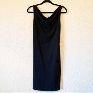 NWT Express Cowl Neck Little Black Dress